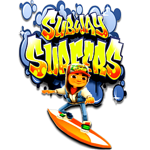 Subway Surfers by POOTERMAN PlusPng.com  - Subway Surfer HD PNG