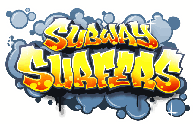 Subway-surfers-Logo.png - Subway Surfer HD PNG