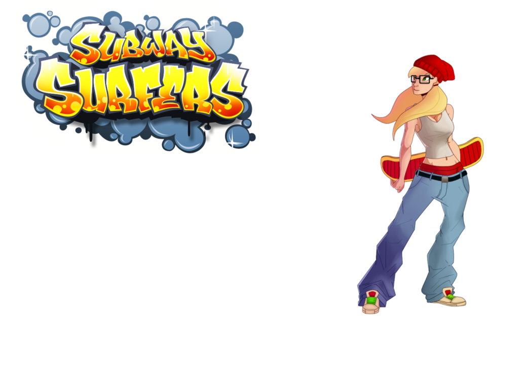 Tricky, Subway Surfers. by DayniiH PlusPng.com  - Subway Surfer HD PNG