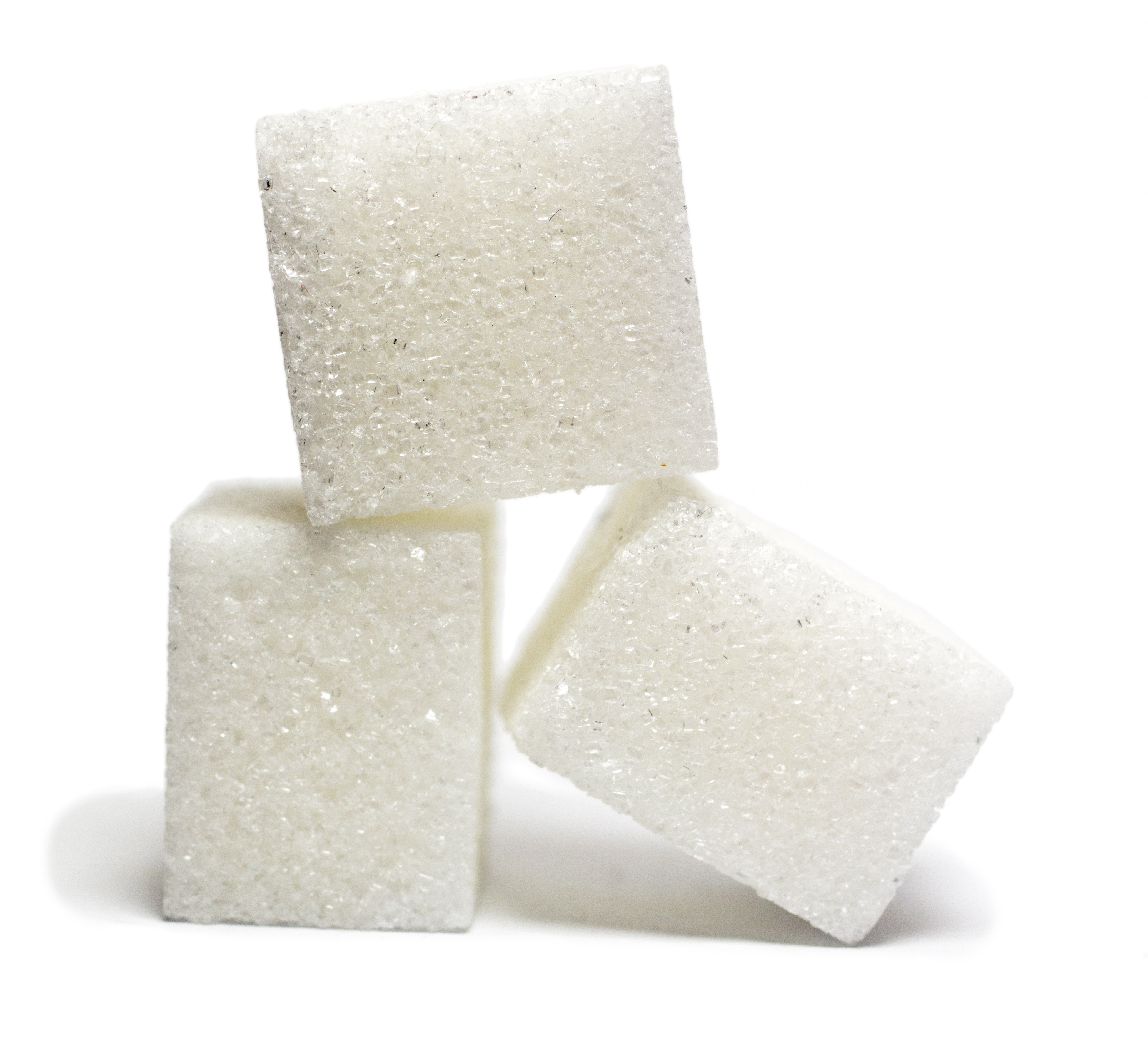Refined sugar significantly r