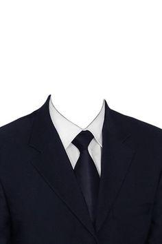 Шаблоны для фотомонтажа и костюмы в psd - Suit PNG