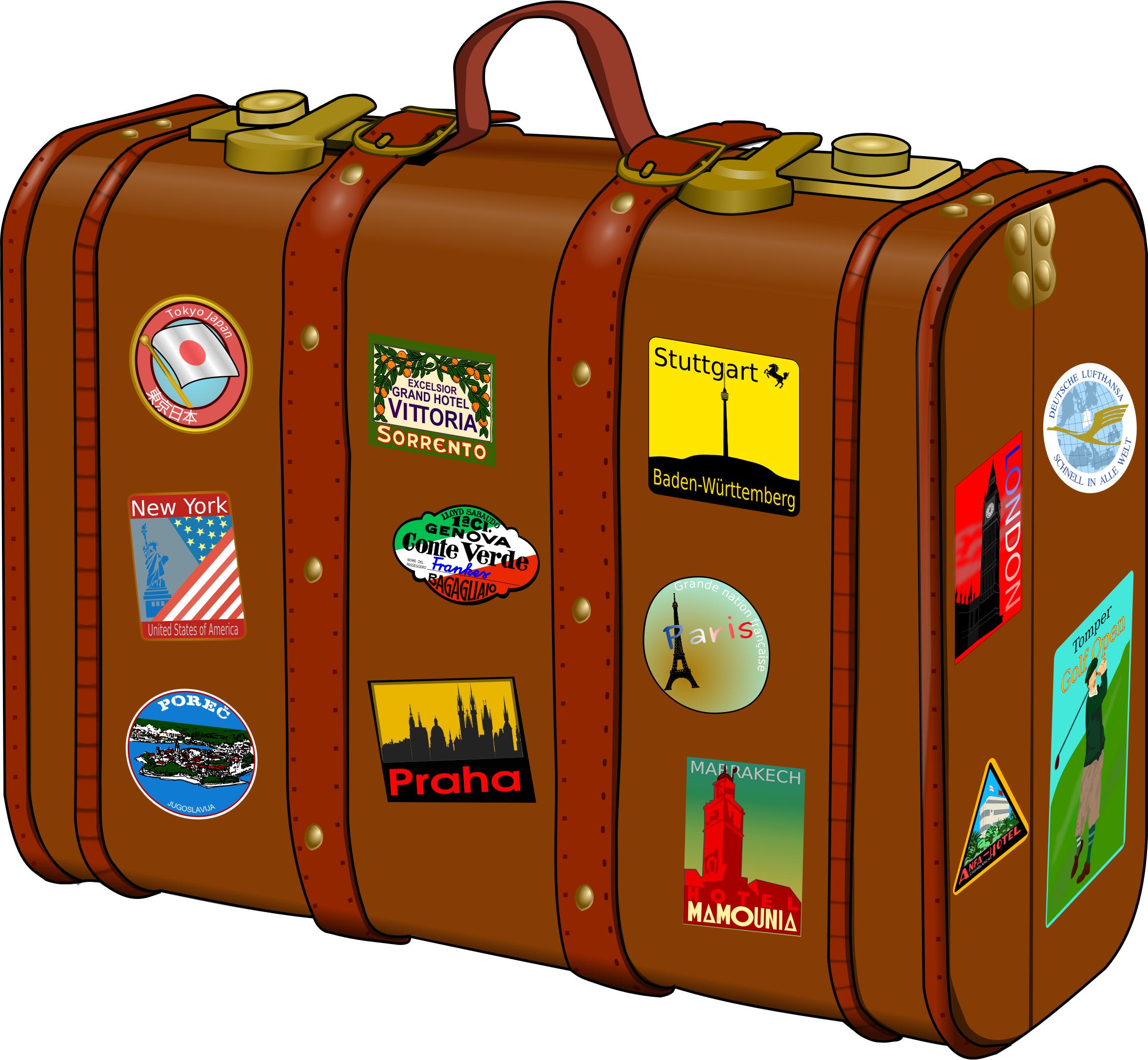 Suitcase PNG - 2561
