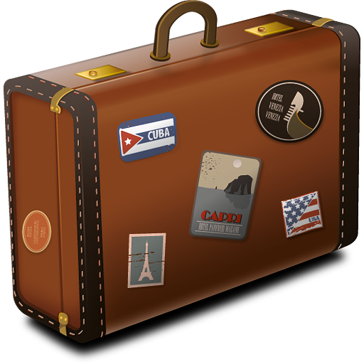 Vintage Suitcase Icon PNG - Suitcase PNG