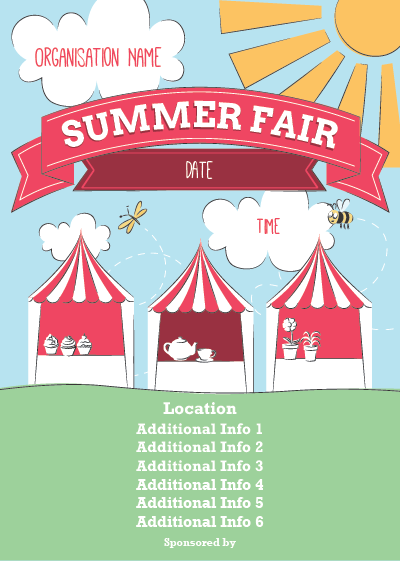 Picture Of Summer Fair Flyer (1) - Summer Fayre PNG