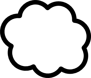Cloud Clip Art - Sun And Clouds PNG Black And White