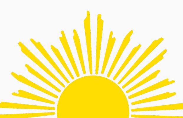 Half Sun Clipart - Sun PNG