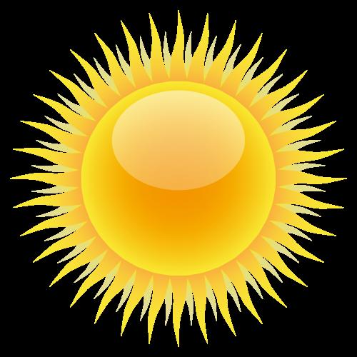 Sun PNG Transparent Image