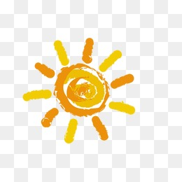 sun, Cartoon Sun, The Little Sun, Yellow PNG Image and Clipart - Sun PNG Transparent Background