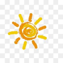 sun, Cartoon Sun, The Little Sun, Yellow PNG Image and Clipart - Sun PNG Transparent Background
