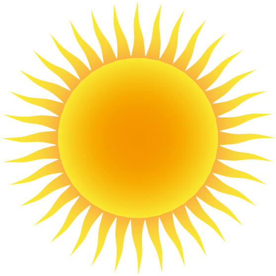 Sun PNG Transparent Background