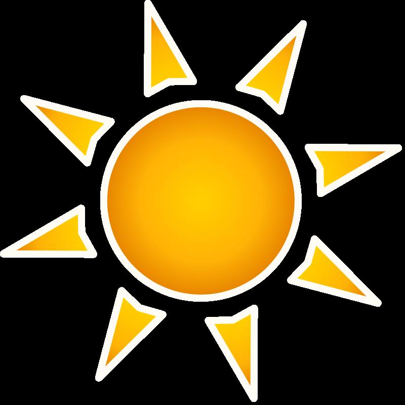 Sun PNG Transparent Background