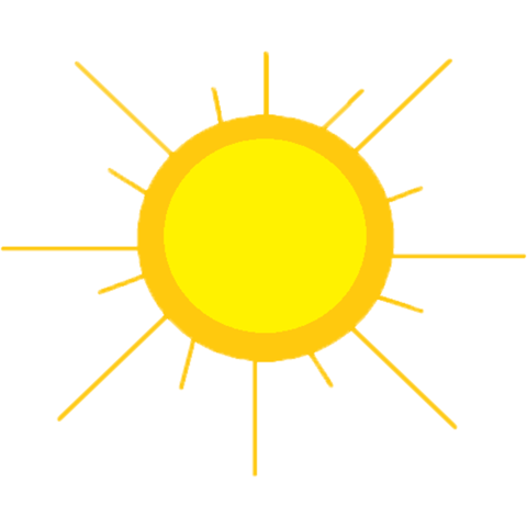 Sun PNG Transparent Background - 137195