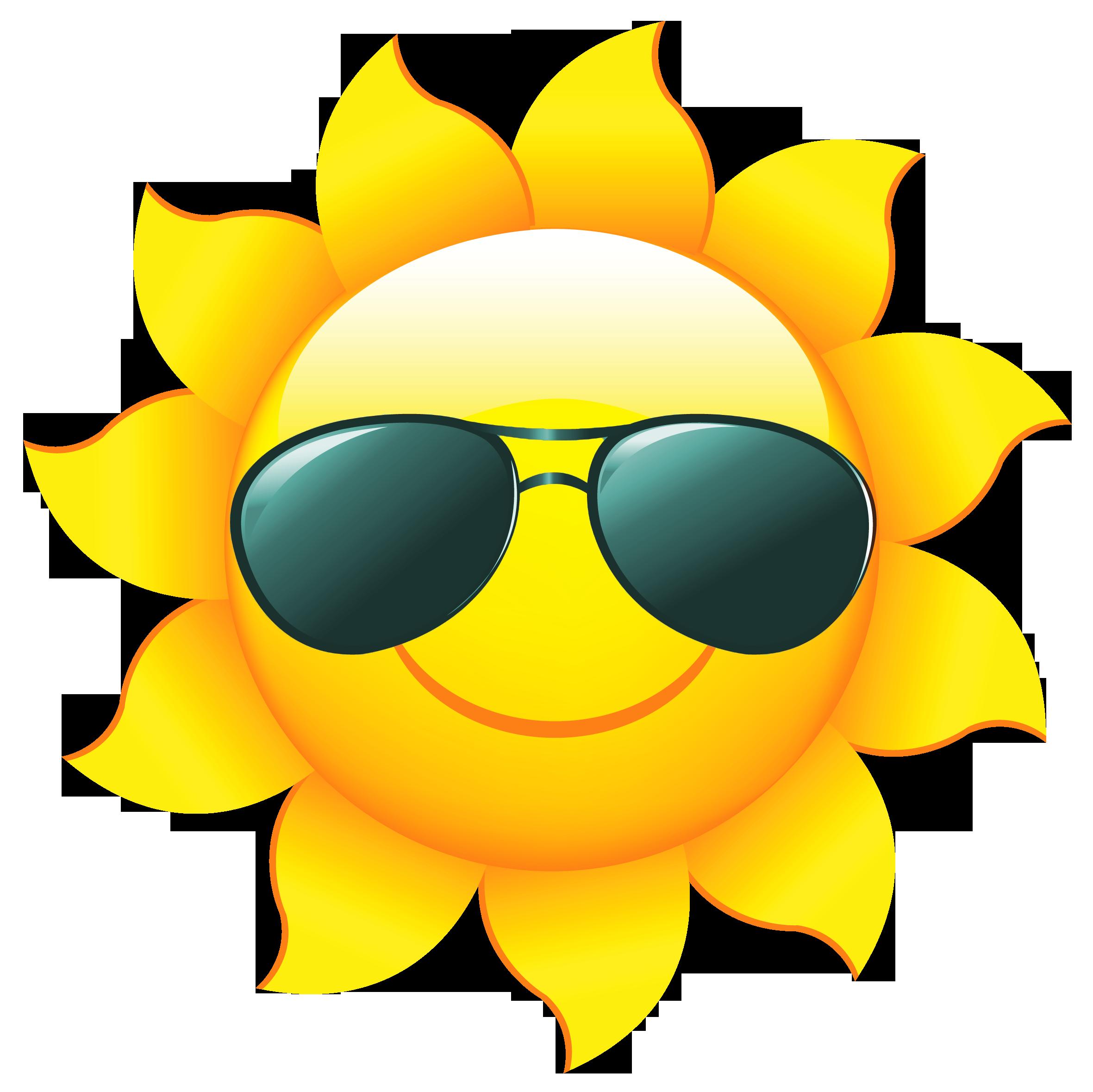 Sunshine Sun Clip Art With Transparent Background Free - Sun PNG Transparent Background
