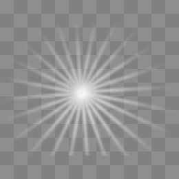 Sun Rays Clipart Black And Wh