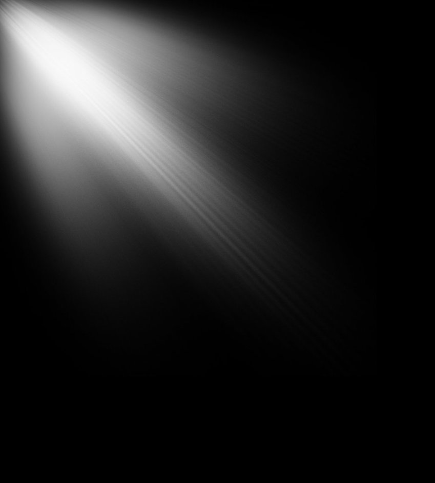 Sun Ray PNG Black And White - 170391