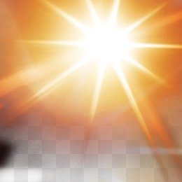 light effect, Glare, Sunlight, Halo PNG and PSD - Sun Shining PNG HD
