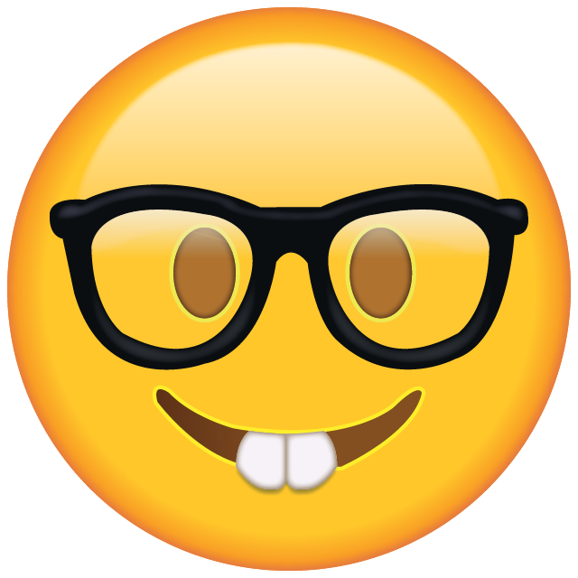 Sunglasses Emoji PNG Clipart