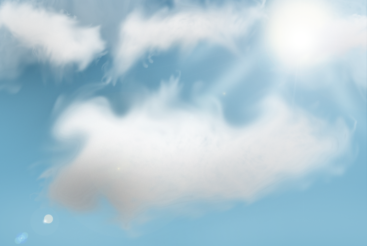 Sunny Sky Drawing - Sunny Sky PNG