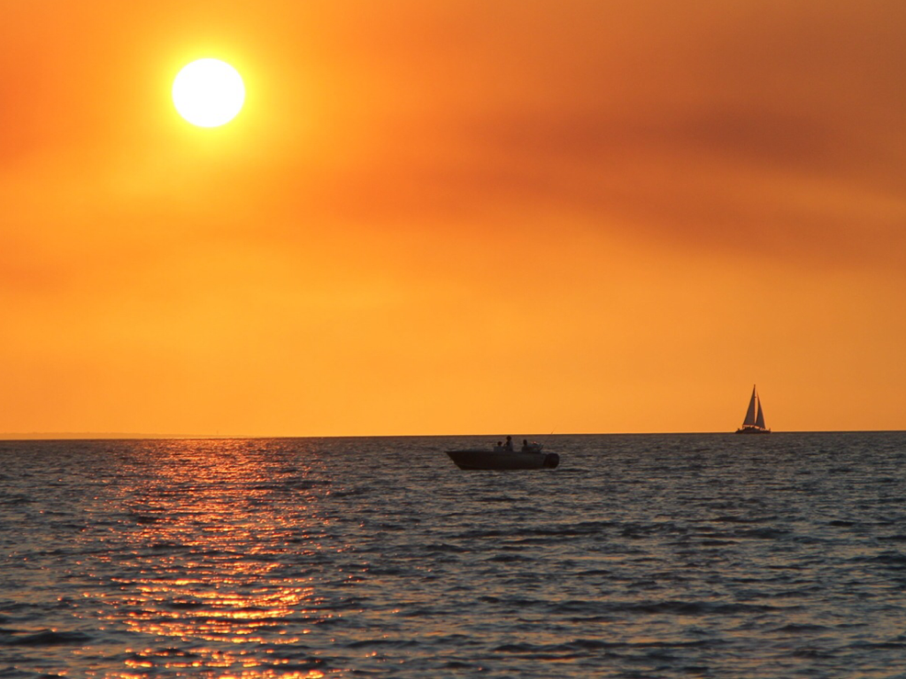 File:Sunset, beach, Northern Territory .png - Sunset PNG HD