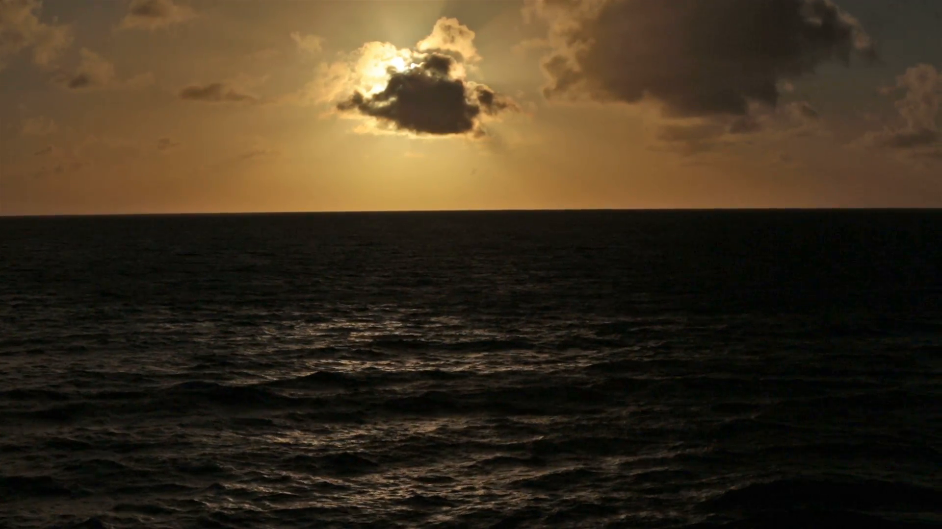 Sunset beautiful Caribbean Ocean from cruise ship HD 1756 Stock Video  Footage - VideoBlocks - Sunset PNG HD