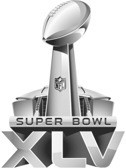 File:Super Bowl XLV Logo.png - Super Bowl Logo PNG