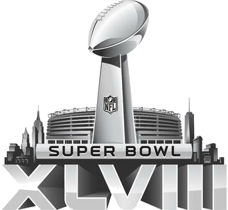 File:Super Bowl XLVIII logo.png - Super Bowl Logo PNG