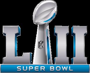 File:Super Bowl LII logo.png - Super Bowl Logo Vector PNG