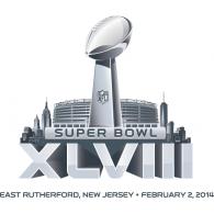 Logo of Super Bowl XLVIII - Super Bowl Logo Vector PNG