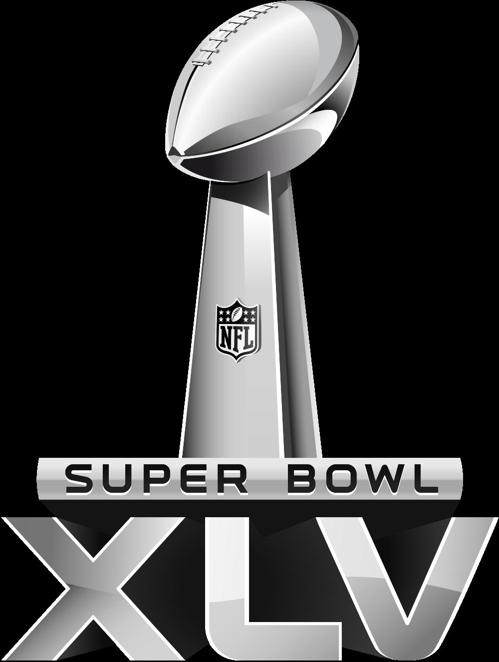 Super Bowl XLV - Super Bowl Logo Vector PNG