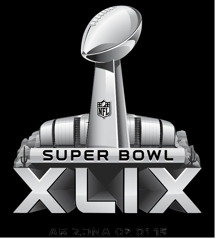 The 2015 Super Bowl XLIX - Super Bowl Logo Vector PNG
