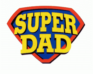 Happy Fatheru0027s Day! - Super Dad PNG