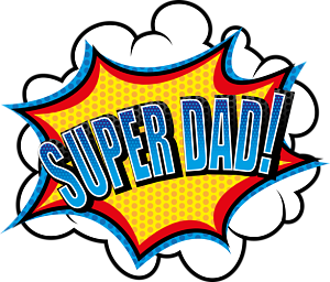 Super Dad! - Super Dad PNG