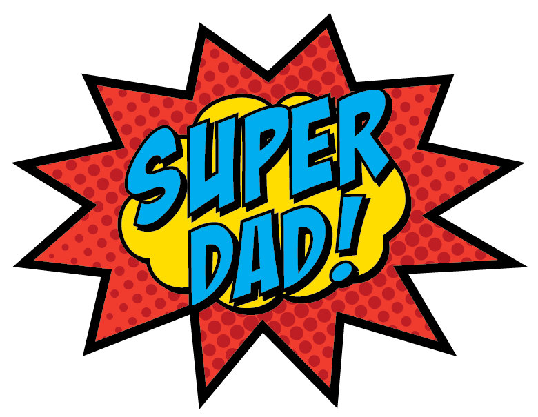 Super Dad Sign PRINTABLE by BsquaredDesign on Etsy, $7.50 - Super Dad PNG