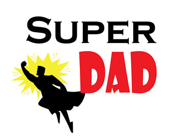 Super Dad SVG File, Dad svg, svg saying, Father svg, super hero svg, comic  svg, heart svg, PNG, Cricut, Silhouette, Cut File Clip art - Super Dad PNG