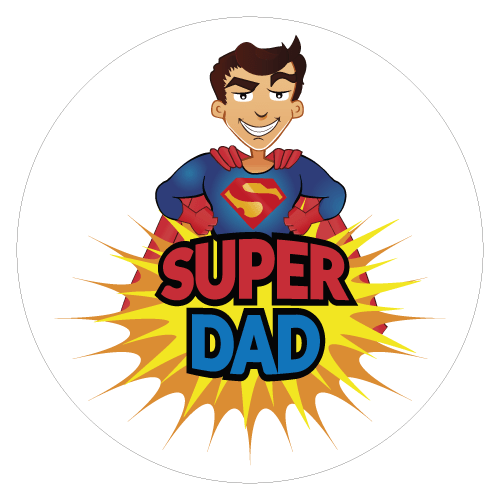 super pai - Super Dad PNG