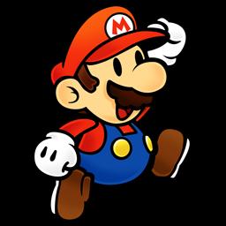 Paper Mario Icon - Super Mario PNG