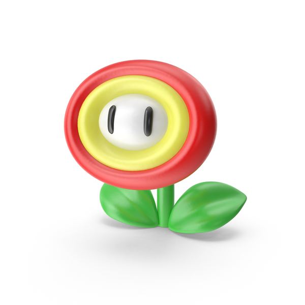 Super Mario Fire Flower - Super Mario PNG