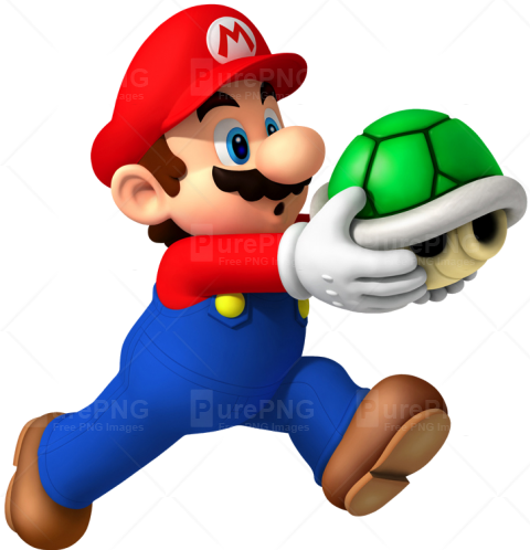 Super Mario With Shell PNG Image - PurePNG | Free transparent CC0 PNG Image  Library - Super Mario PNG