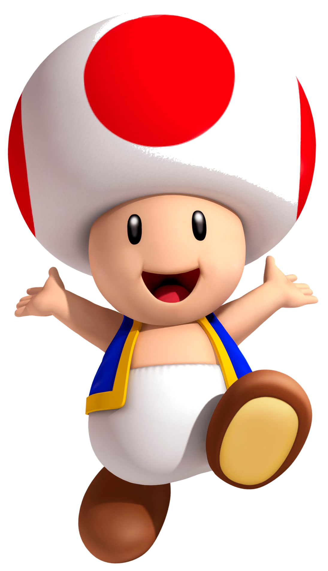 Toad Artwork - Super Mario 3D Land.png - Super Mario PNG