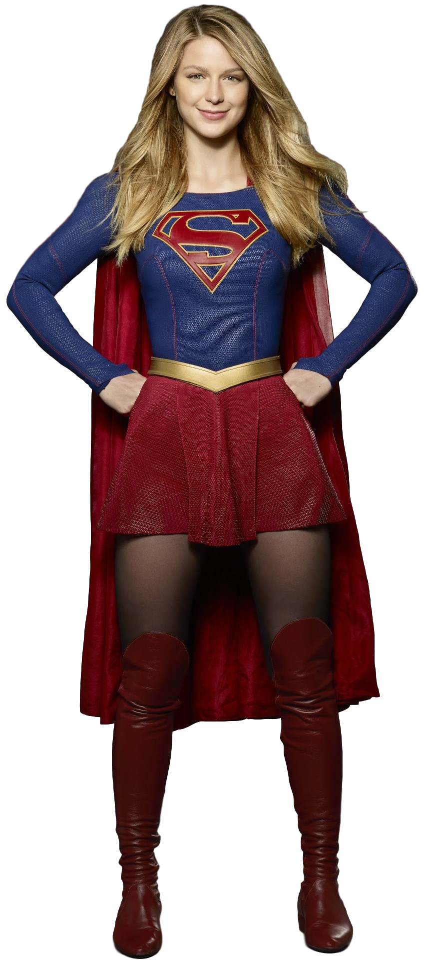 . PlusPng.com Supergirl - Transparent Background! by Camo-Flauge - Supergirl PNG