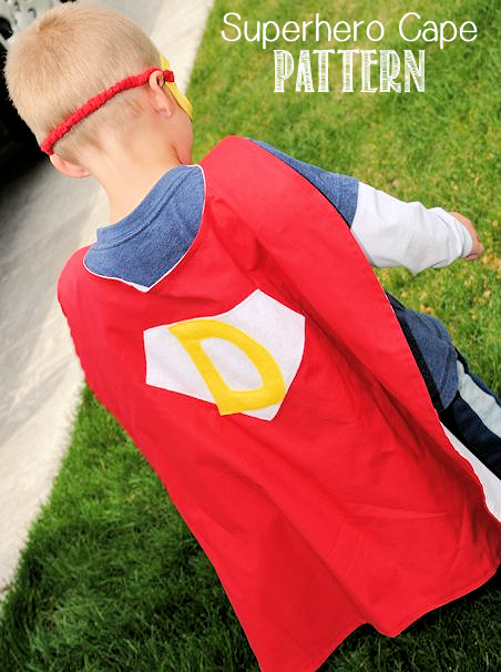 Personalized Superhero Cape Pattern - Superhero Capes PNG