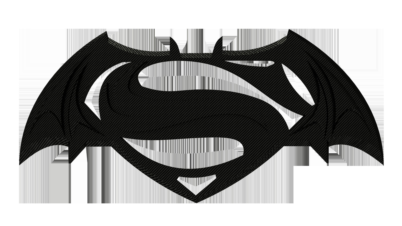 Batman Vs Superman Logo Png - Superhero PNG Black And White