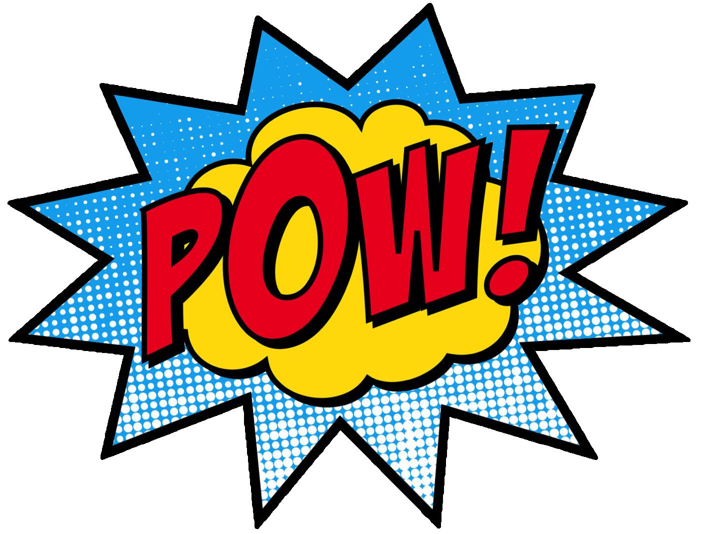 Superhero super hero words clip art free clipart images 2 - Superhero PNG