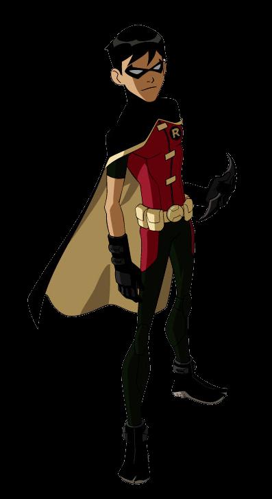 Superhero Robin PNG - 4153