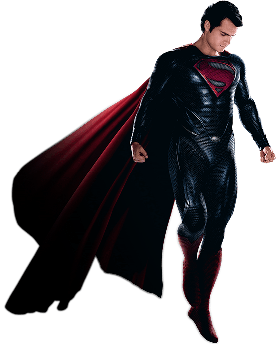 Superman Man Of Steel Png PNG Image - Superman PNG
