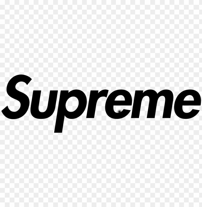 Related Wallpapers - Black Supreme Logo Png Image With Transparent Pluspng.com  - Supreme Logo PNG