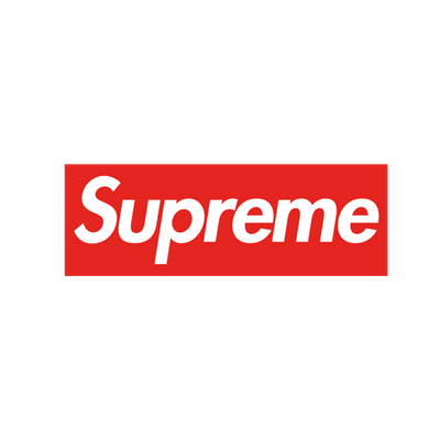 Library Of Supreme Logo Black