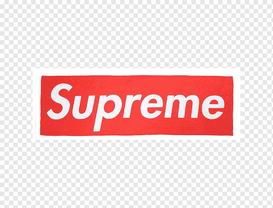 T-shirt Supreme Logo Hoodie Clothing, T-shirt, Text, Rectangle Pluspng.com  - Supreme Logo PNG
