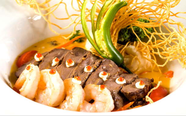 Asian style Surf and Turf - Surf And Turf PNG
