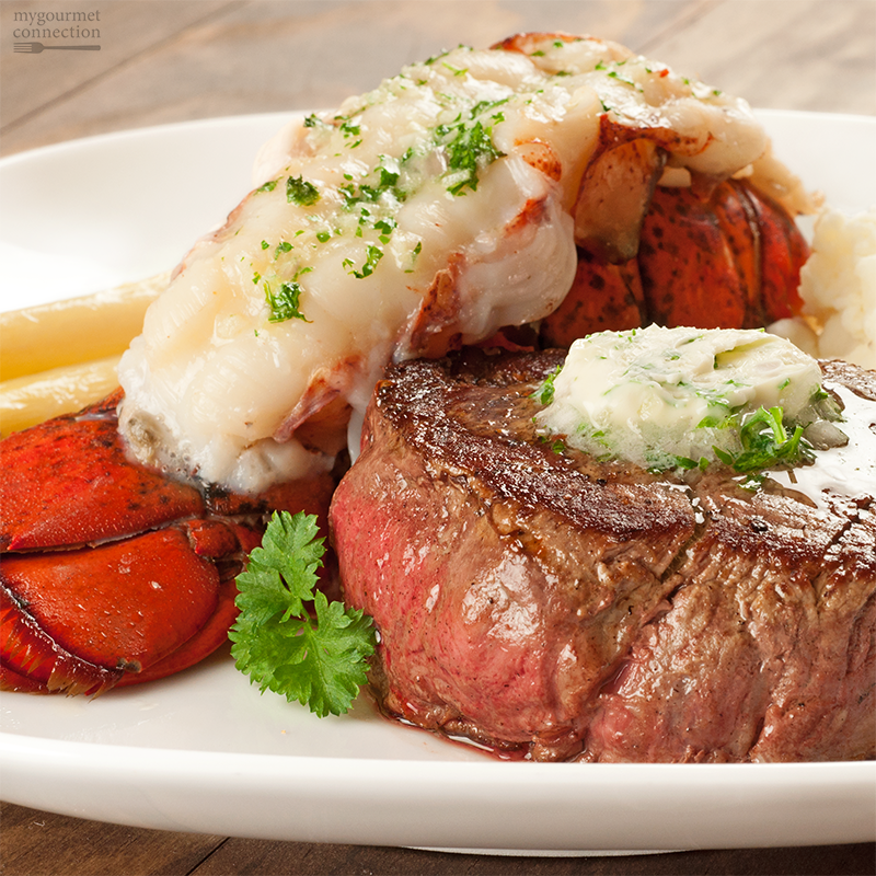 Celebrate Valentineu0027s Day at home - make our Surf and Turf Dinner For Two -  from - Surf And Turf PNG